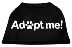 Adopt Me Novelty Dog Shirt Black
