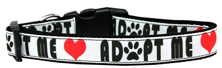 Adopt Me Nylon Hearts Dog Collar