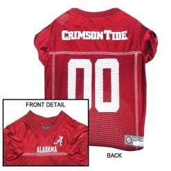 Alabama Crimson Tide dog Jersey