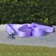 American River Purple Dog Leash