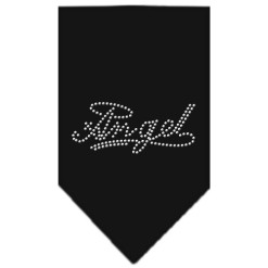 Angel halo dog bandana black