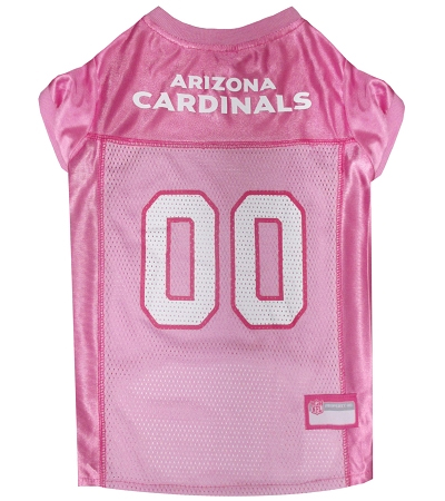 Arizona Cardinals Pink Dog Jersey