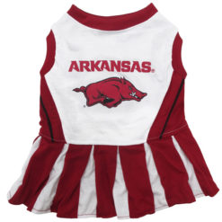Arkansas Razorbacks NCAA Dog Cheerleader Dress
