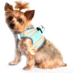Aruba Blue American River Sport Dog Harness side view