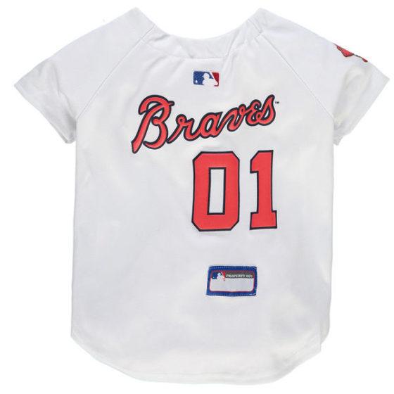 Atlanta Braves MLB Dog Jersey
