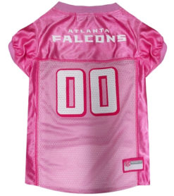 Atlanta Falcons NFL Pink Dog Jersey