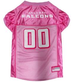 Atlanta Falcons NFL Pink Dog Jersey