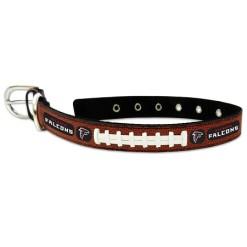 Atlanta Falcons leather dog collar large