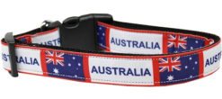 Australia Flag Nylon Dog Collar