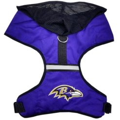 Baltimore Ravens NFL Mesh Dog Harness