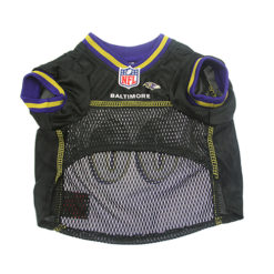 Baltimore Ravens NFL dog jersey on pet - 3