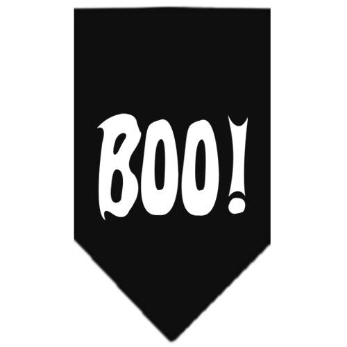 Boo Halloween bandana black
