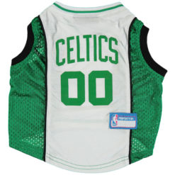 Boston Celtics NBA Dog Jersey front