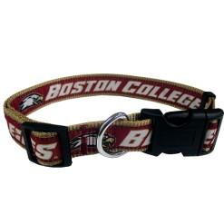 Boston Colleage Eagles adjustable dog collar