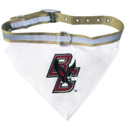 Boston College Eagles NCAA Dog Bandana and Collar