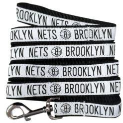Brooklyn Nets Nylon Dog Leash