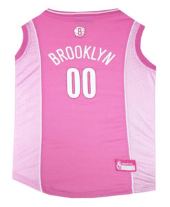 Brooklyn Nets Pink NFL Dog Jersey