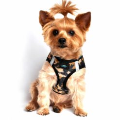 Brown Camouflage American River Dog Harness