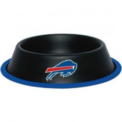 Buffalo Bills NFL Stainless Black Dog Bowl