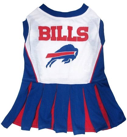 Buffalo Bills NFL dog cheerleader dress