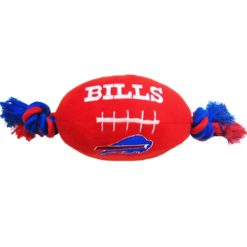 Buffalo Bills NFL plush football dog toy