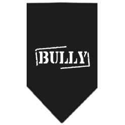 Bully dog bandana black