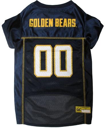 California Golden Bears dog jersey