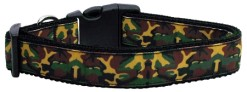 Camouflage Adjustable Dog Collar