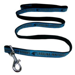 Carolina Panthers NFL nylon dog leash