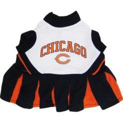 Chicago Bears NFL dog cheerleader dress