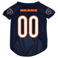 Chicago Bears NFL dog jersey alternate style