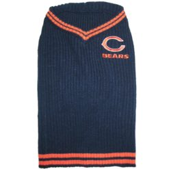 Chicago Bears turtleneck NFL dog sweater