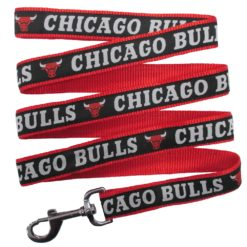 Chicago Bulls Nylon Dog Leash NBA