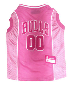 Chicago Bulls Pink NFL Dog Jersey