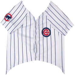 Chicago Cubs dog jersey front