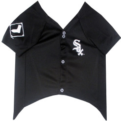 Chicago White Sox dog jersey front