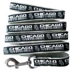 Chicago White Sox nylon dog leash