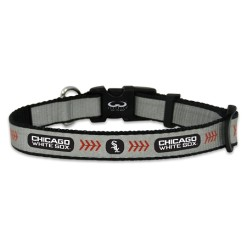 Chicago White Sox reflective dog collar