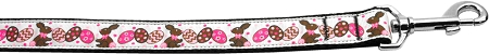 Chocolate Bunnies & Eggs Nylon Webbing Dog Leash