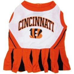Cincinnati Bengals NFL dog cheerleader dress