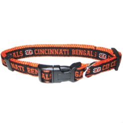 Cincinnati Bengals NFL nylon dog collar