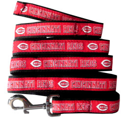 Cincinnati Reds MLB nylon dog leash