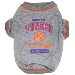 Clemson Tigers Crimson Athletics NCAA pet dog shirt