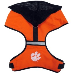 Clemson Tigers NCAA mesh dog harness