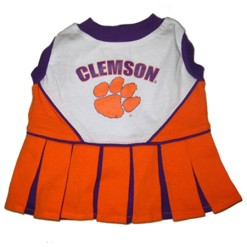 Clemson Tigers dog cheerleader dress