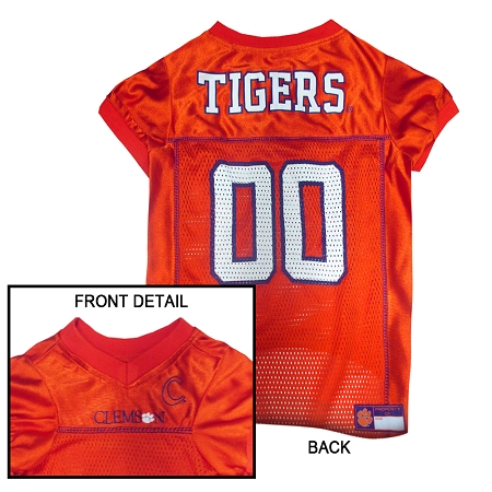 Clemson Tigers dog jersey