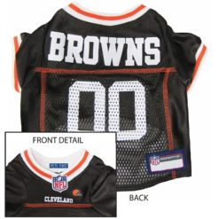 Cleveland Browns NFL dog jersey