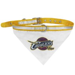 Cleveland Cavaliers Adjustable Dog Collar and Bandana