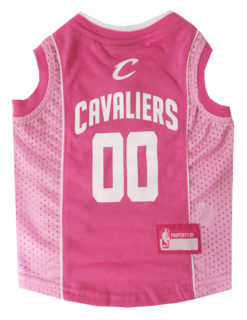 Cleveland Cavaliers Pink NBA Dog Jersey