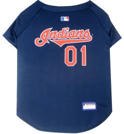 Cleveland Indians MLB dog jersey